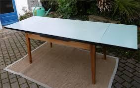 table de cuisine formica table de cuisine 2 allonges plateau formica