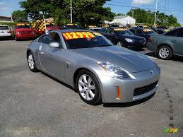nissan z for sale 2003 nissan 350z enthusiast coupe in chrome silver 002783 jax