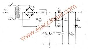 simple ups circuit diagram eleccircuit com