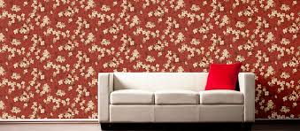 Flower Wallpapers  Floral Wallpaper Design Ideas From Nilaya By - Asian paints wall design