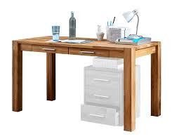Schreibtisch Schmal Holz Linea Natura Schreibtisch Okay