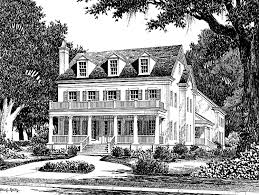 southern living garage plans eplans plantation house plan colonial lake cottage from the