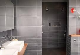 Bathroom  Dark Wall Bathroom Design With Open Shower The Key To - Open shower bathroom design
