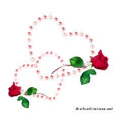 imagenes chidas brillosas un besito para quien me quiera corazones brillantes rosas y