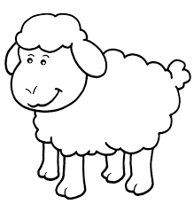 lamb coloring pages getcoloringpages com