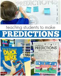 making predictions 1st grade read aloud free printable making