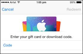 How To Redeem Itunes Gift Card On Iphone - how to redeem app store promo code on iphone ipad