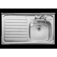 leisure proline pl9852l 1 5 bowl 1th stainless steel inset best prices on sinks sinks and taps long eaton appliance company