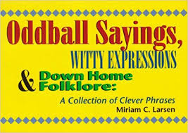 oddball sayings witty expressions home folklore