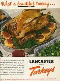 1950 food ad lancaster brand turkeys for thanksgiving b flickr