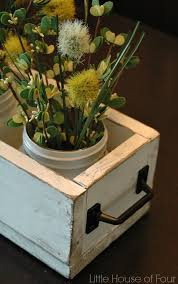 rustic dining table planter box little house of four creating