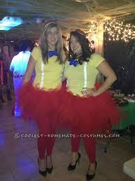 easy homemade tweedle dum and tweedle dee halloween couple