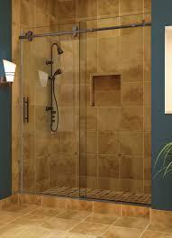 Frameless Glass Shower Door Kits Shower Custom Glass Shower Enclosures Frameless Kits Arizona Fit