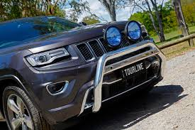 jeep cherokee accessories tjm tourline nudge bar jeep grand cherokee wk2 2014 tjm