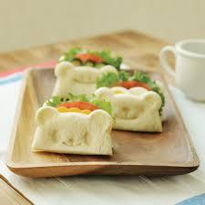 emporte pi鐵e cuisine moule ourson toast emporte kawaii 05 obentos que eu vi