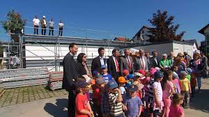 Kindergarten Baden Baden Richtfest Beim Neuen St Wendelinus Kindergarten In Haueneberstein
