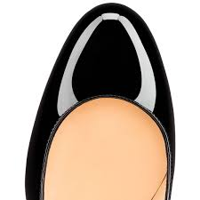 christian louboutin new simple pump patent leather black