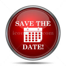 save the date website save the date icon save the date website button on white background
