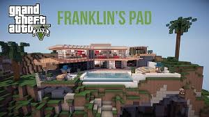 map pad gta v franklin s pad map 1 12 2 1 11 2 for minecraft