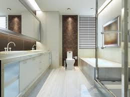 Narrow Bathroom Designs Colors 59 Modern Luxury Bathroom Designs Pictures
