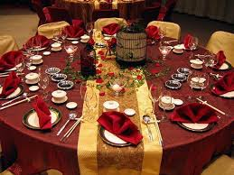 Round Table Decor Round Table Wedding Centerpiece Ideas Home Decoration Red Diy