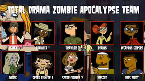 Zombie Team Meme - my total drama zombie apocalypse team by tdgirlsfanforever on