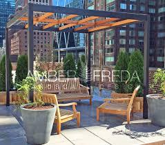 midtown nyc roof garden amber freda home u0026 garden design