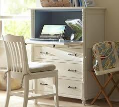 pottery barn secretary desk repurpose refinish upcycle an old tallboy dresser into a laptop desk