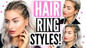 hair ring summer hairstyles hair rings lyssryann