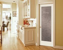 kitchen interior doors cool single swing white frozzen pantry door with wooden glass door