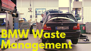bmw workshop bmw waste management youtube
