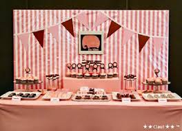 dessert table backdrop pink elephant dessert table by clau guest feature