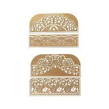 Anna Griffin Craft Room Furniture - anna griffin cuttlebug decorative border die set 8299686 hsn