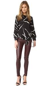 dvf blouse diane furstenberg evvy blouse shopbop