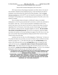 Apa Format Sample Paper Essay Annotated Bibliography Format Mla Example