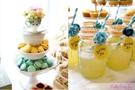 Drinks For Baby Shower - baby shower food ideas