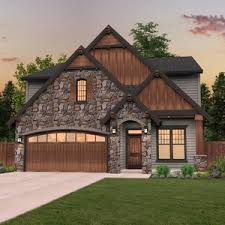 narrow lot houses craftsman house plan shingle home suited for narrow lots tranquil