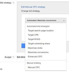 adwords bid adds maximize conversions automated bid strategy in adwords