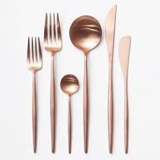 Design For Copper Flatware Ideas Pin By Thebuffalo77 On Nest Pinterest Kitchens Cutlery And