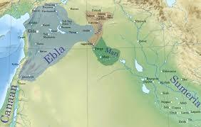 Aleppo Syria Map by Ebla Tell Mardikh Was One Of The Earliest Kingdoms In Syria