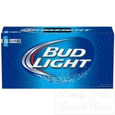 bud light can oz light 18 pack 12 oz cans