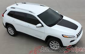 white jeep hood 2014 2017 jeep cherokee t hawk factory oem trailhawk style