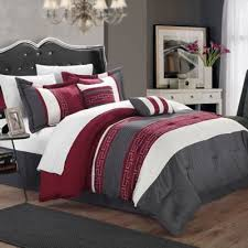 Wine Colored Bedding Sets Wine Colored Comforter Sets Hotel New York Reversible Plush 9