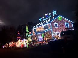 christmas lighting family s christmas lights display courts controversy in