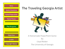 Georgia traveling games images Ivhs winter 2008 pd creating homemade powerpoint games a follow up jpg