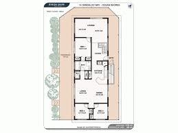 ocean shores floor plan 14 dandaloo way ocean shores nsw 2483 sold 2016911
