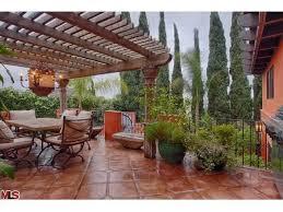 ali landry lists spanish style home in los feliz