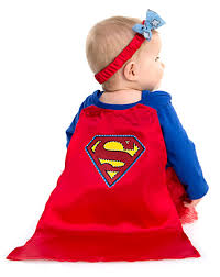 supergirl halloween costumes supergirl caped dress baby costume u2013 spirit halloween holidays