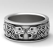 wolf wedding rings celtic animal rings celticeternity