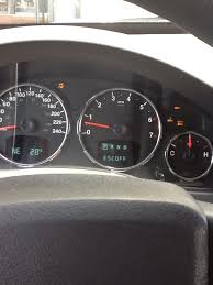 2008 jeep liberty warning lights esc off then serv 4wd 4 low and 4wd lights on whiles driving